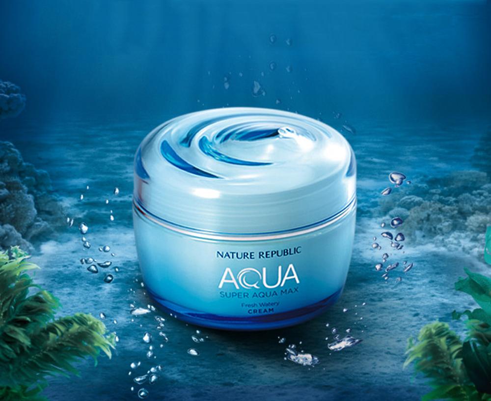 [NATURE REPUBLIC] Super Aqua Max Fresh Watery Cream 80m
