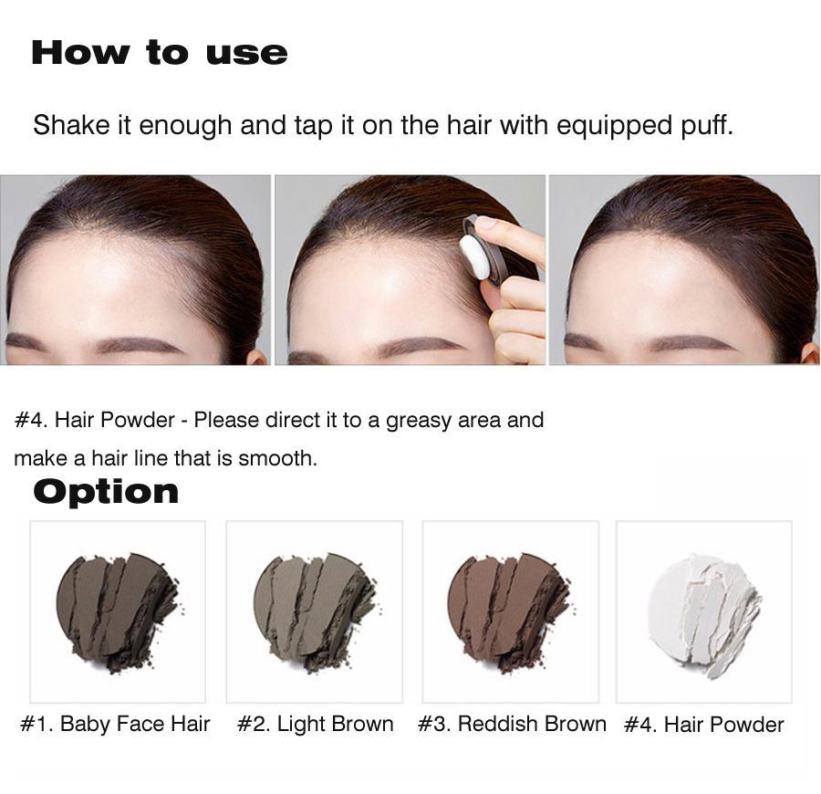 Mamonde Pang Hair Shadow 4 Colors