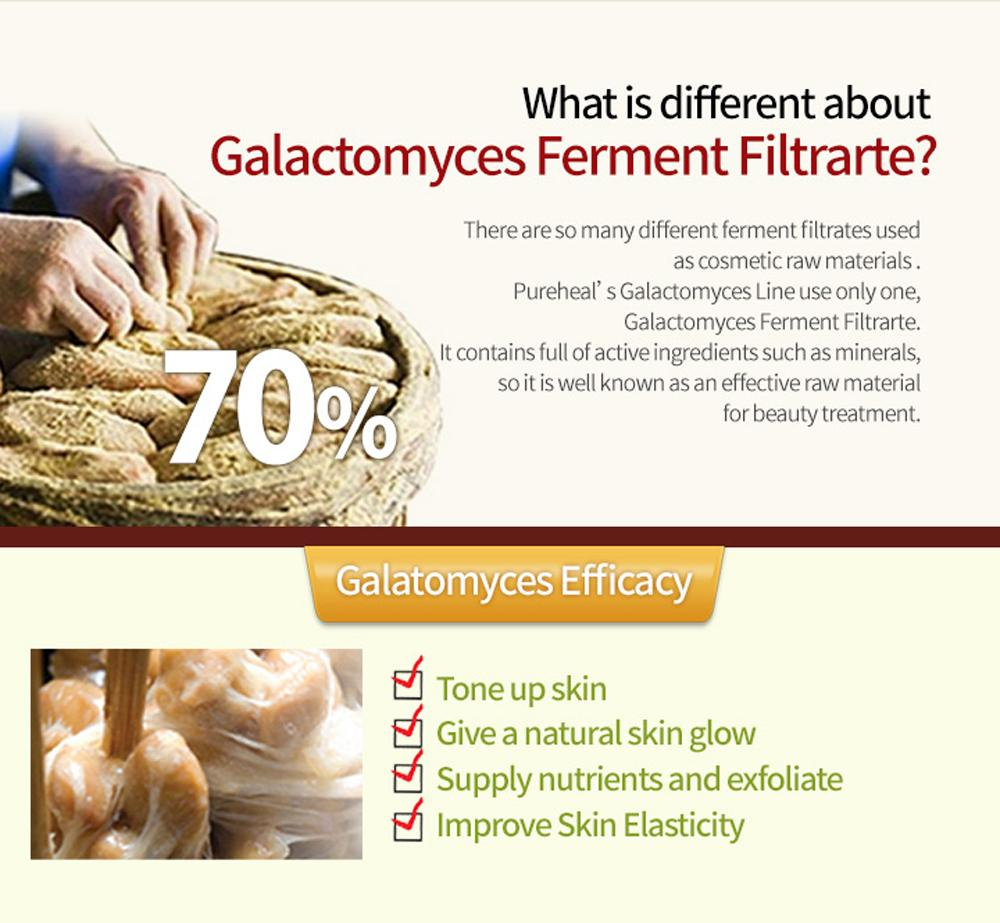 Pureheals Galactomyces Cream 50ml 169oz Contain 70 Centella 80 Eye 30ml Description