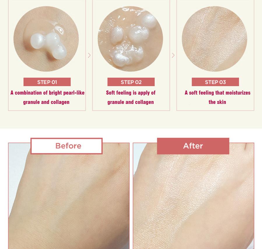 Resultado de imagem para THE FACE SHOP White Ginseng Collagen Pearl Capsule Cream